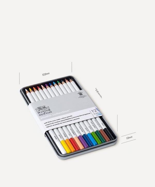 Winsor & Newton - Studio Collection Watercolour Pencils Set of 12