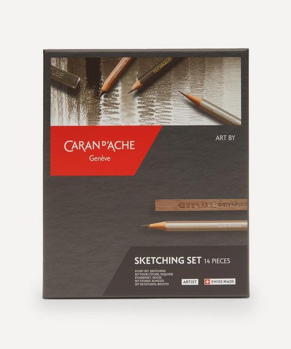 Caran d'Ache - Complete Sketching Set