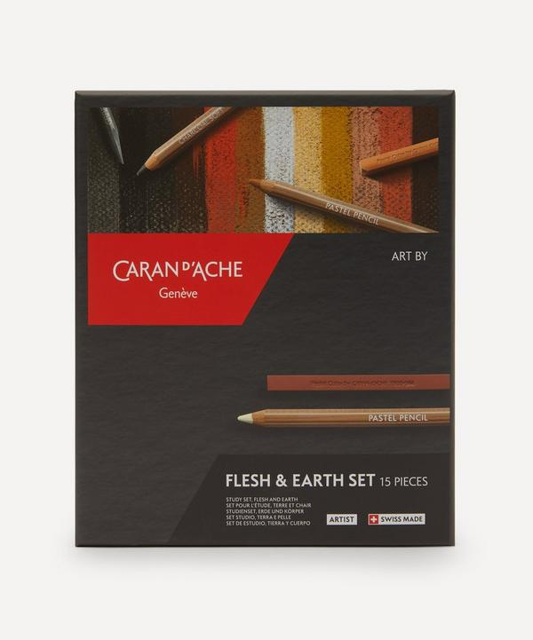 Caran d'Ache - Complete Flesh and Earth Sketching Set
