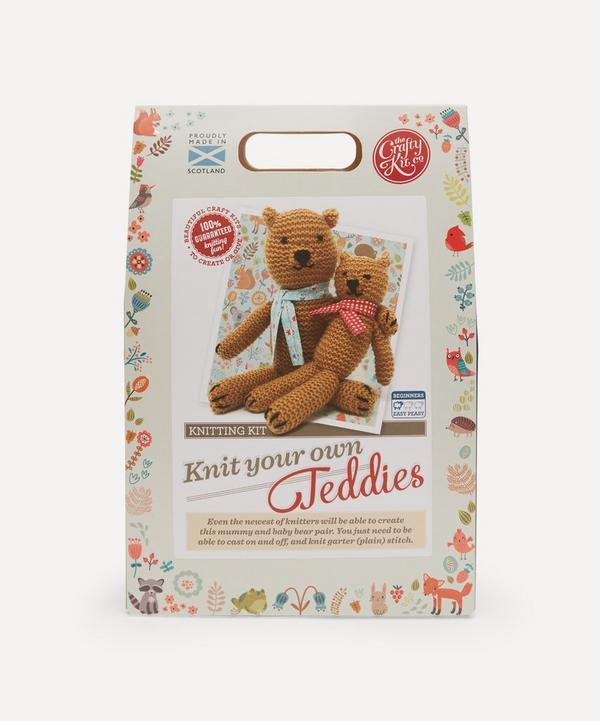 The Crafty Kit Company - Teddies Knitting Kit