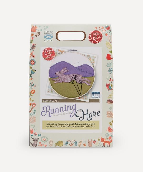 The Crafty Kit Company - Running Hare Felt Appliqué Kit