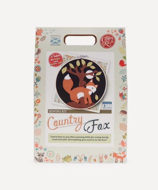 The Crafty Kit Company - Fox Felt Appliqué Kit