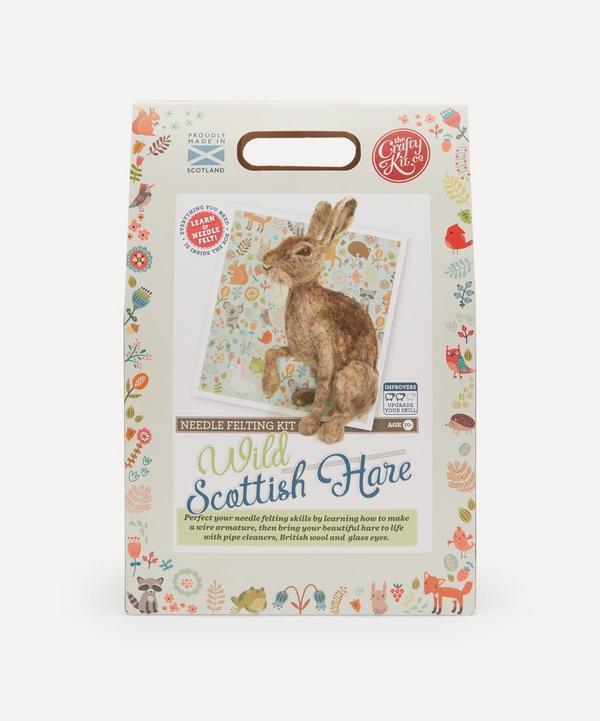 The Crafty Kit Company - Hare Needle Felting Kit