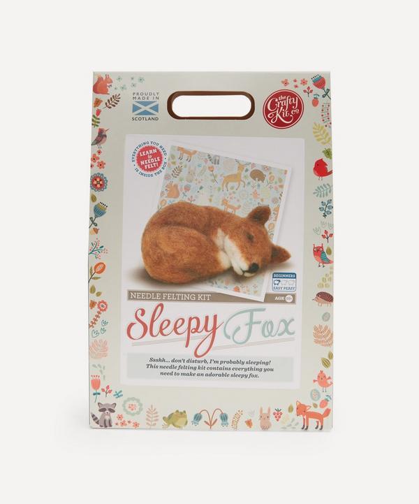 The Crafty Kit Company - Fox Needle Felting Kit