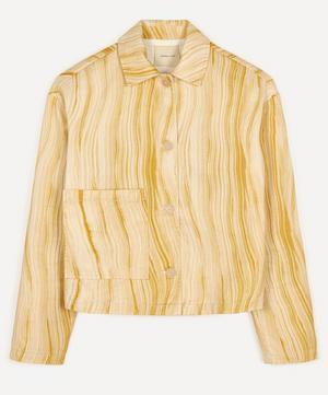 Bardenas Hand-Drawn Cropped Jacket