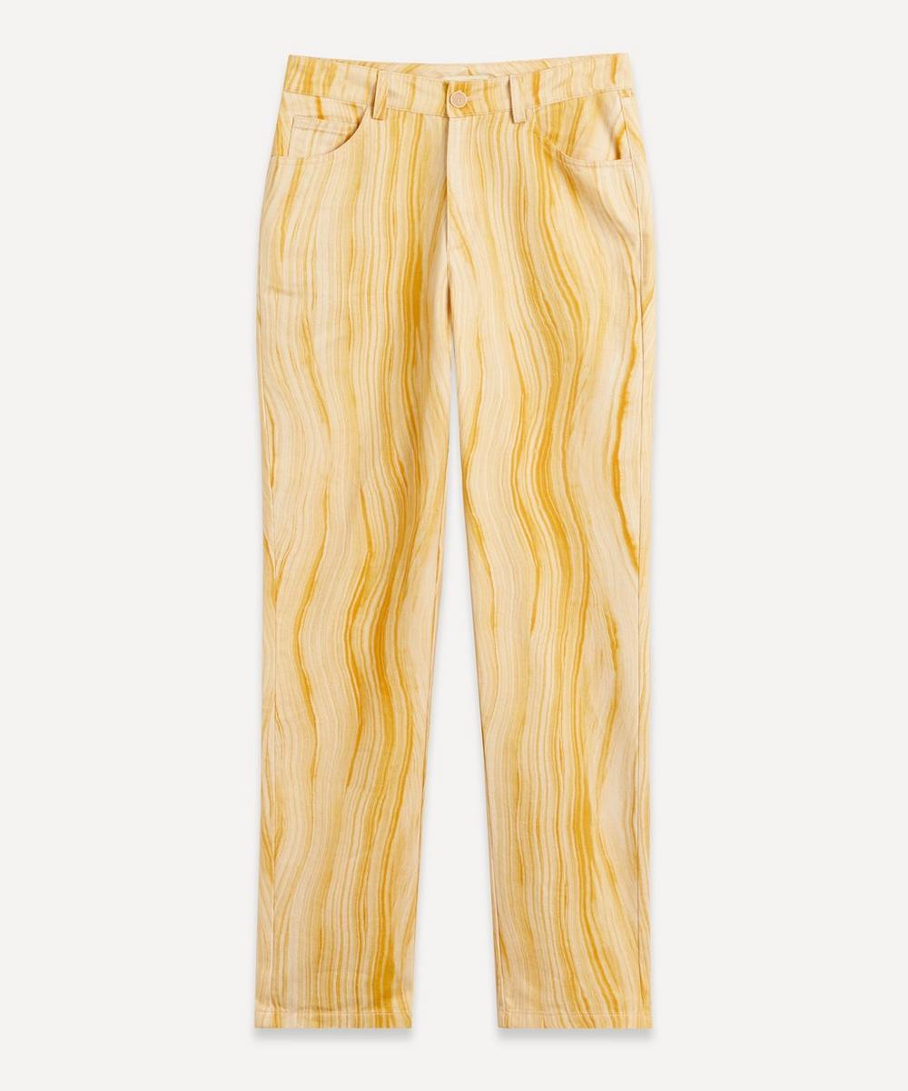 Paloma Wool - Monegros Hand-Drawn Print Jeans