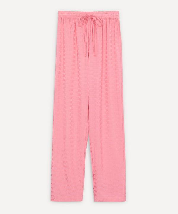 Paloma Wool - Kobe Logo Jacquard Drawstring Trousers