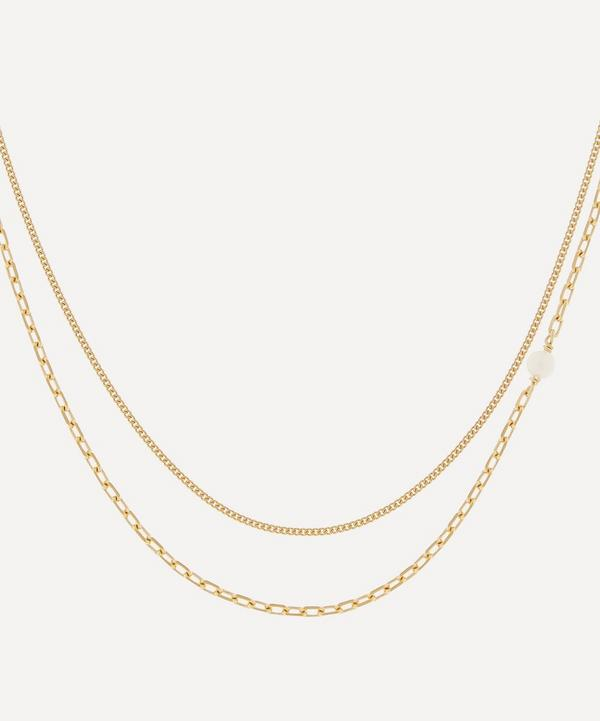 Maria Black - Gold-Plated Cantare Double Chain Necklace