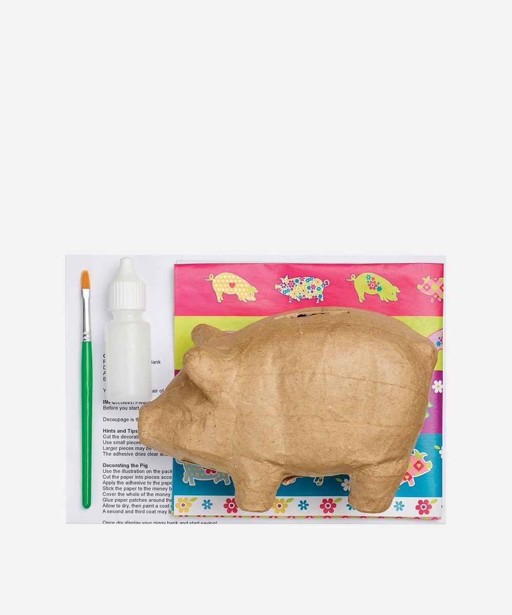 House of Crafts - Découpage Piggy Bank Kit