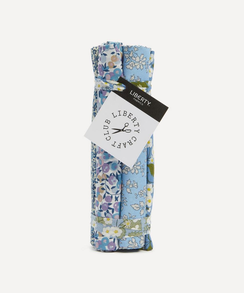 Liberty Fabrics - Blue Tana Lawn™ Cotton Fabric Bundle One Metre