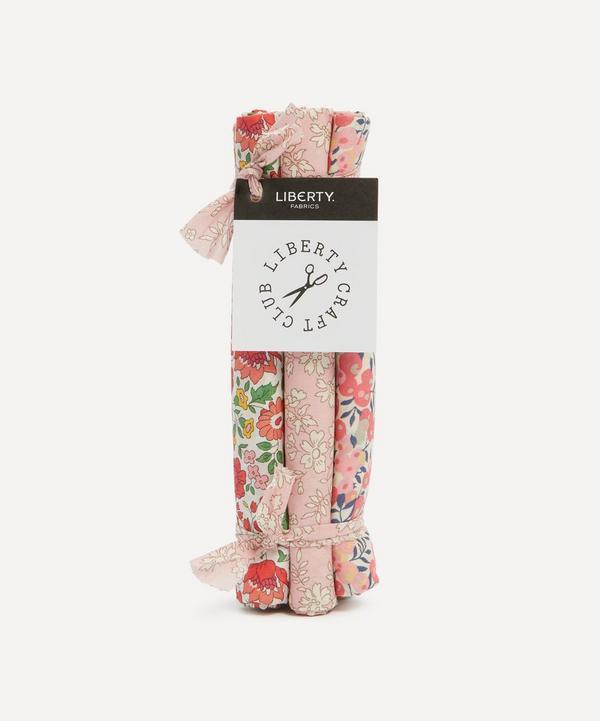 Liberty Fabrics - Pink Tana Lawn™ Cotton Fabric Bundle One Metre