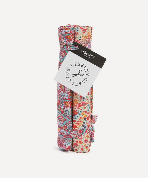 Liberty Fabrics - Red Tana Lawn™ Cotton Fabric Bundle One Metre