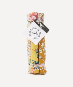 Yellow Tana Lawn™ Cotton Fabric Bundle One Metre