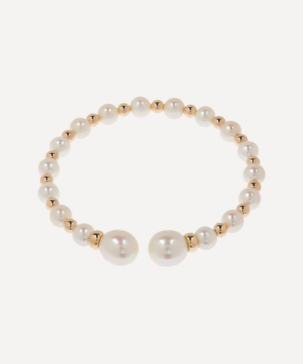 Anissa Kermiche - Gold Impromptu Pearl Bracelet