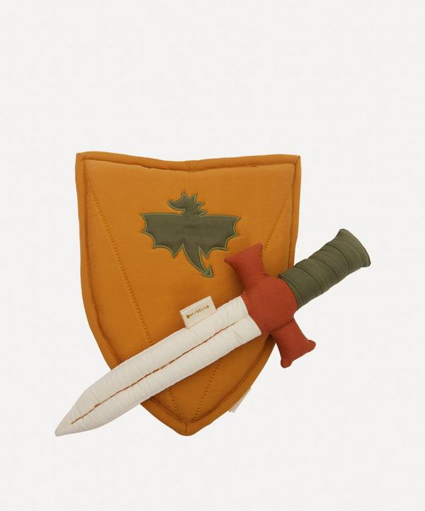 Fabelab - Organic Cotton Shield and Sword Set