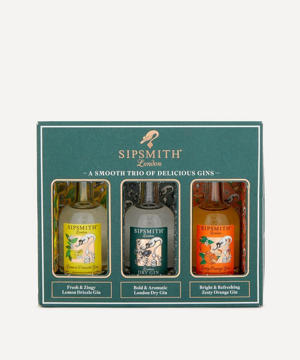 Sipsmith - Mini Gin Trio Gift Set 50ml