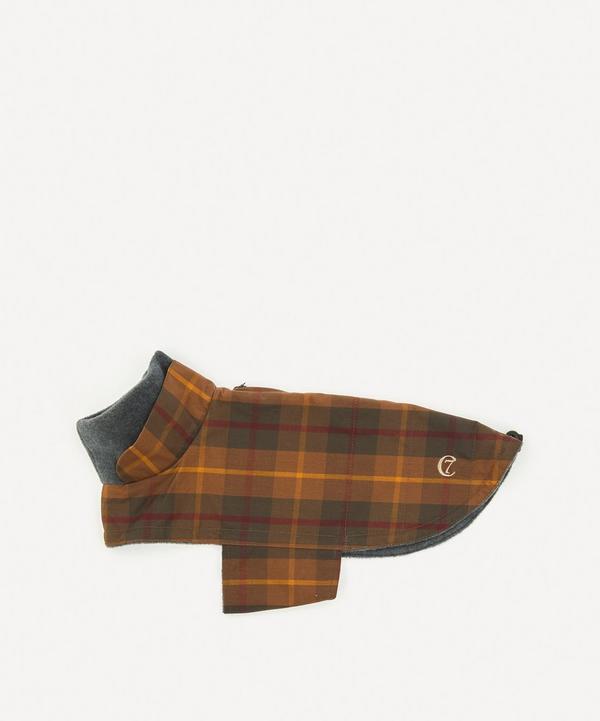 Cloud7 - Medium Waxed Tartan Dog Coat