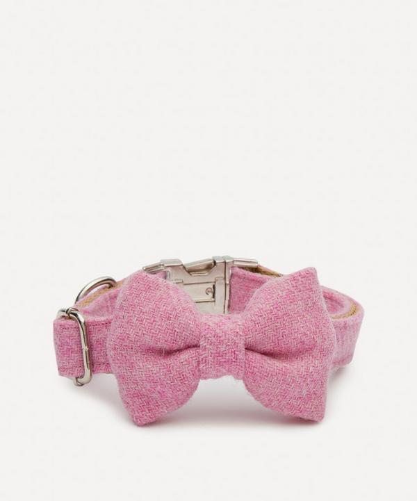 Ollie & Co - Large Harris Tweed Bow Tie Collar