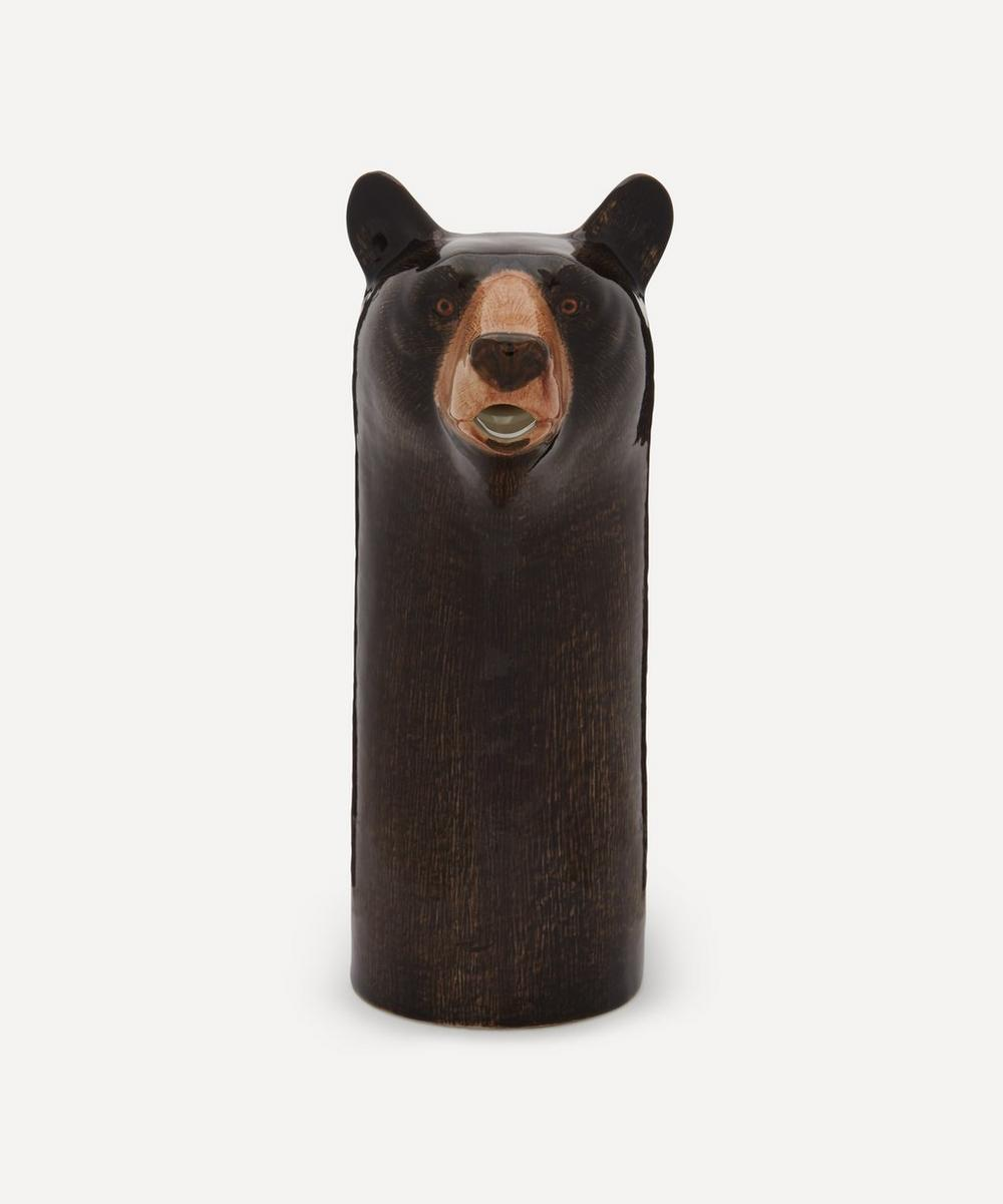 Quail - Black Bear Wine Jug
