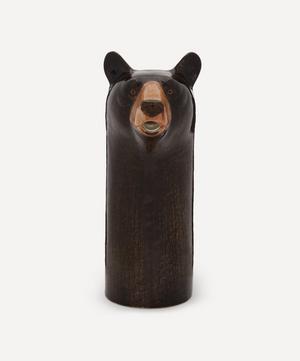 Black Bear Wine Jug