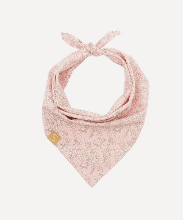 Sebastian Says - Extra Small Floral Print Dog Neckerchief