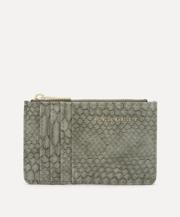 Estella Bartlett - Snake Print Faux Leather Card Purse
