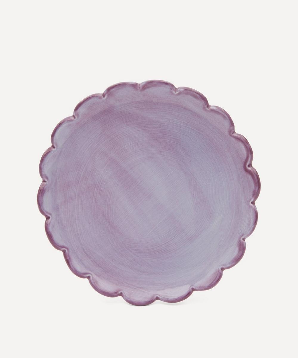 KC Hossack Pottery - Camellia Breakfast Plate