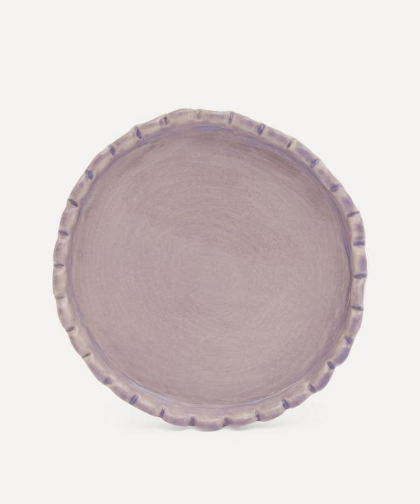 KC Hossack Pottery - Scallop Edge Ceramic Coaster