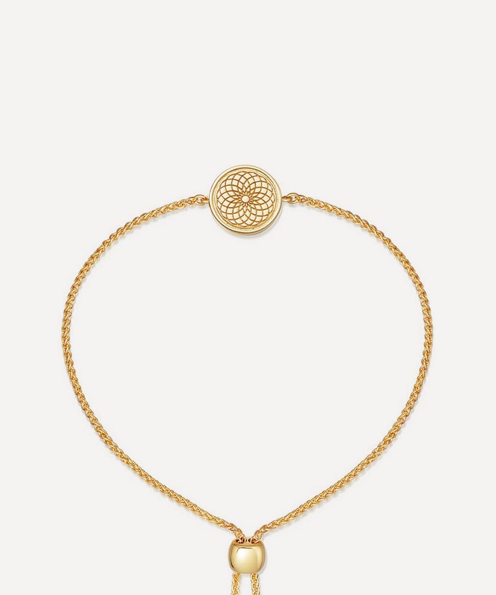 Astley Clarke - Gold Plated Vermeil Silver Celestial Radial Kula Bracelet