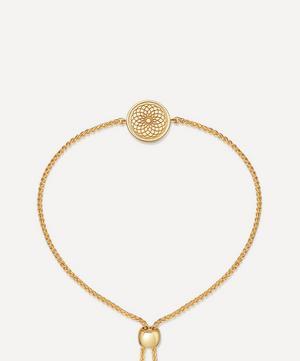 Gold Plated Vermeil Silver Celestial Radial Kula Bracelet
