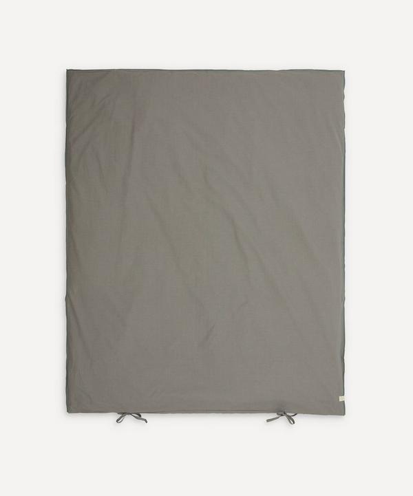 Camomile London - Mini Gingham Junior Duvet Cover