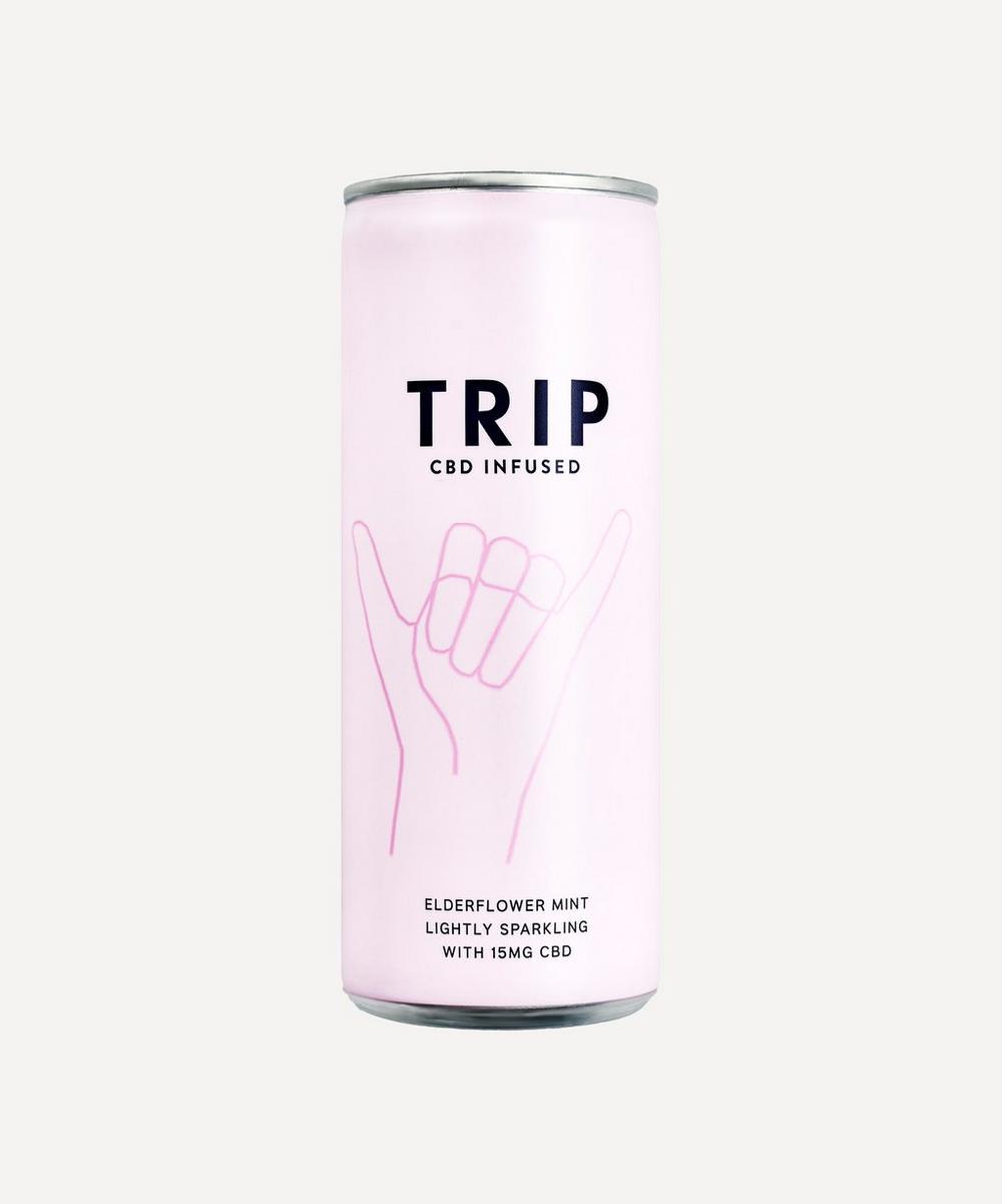 TRIP - Elderflower Mint CBD-Infused Drink 250ml