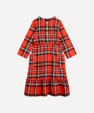 Woven Flannel Dress 2-8 Years