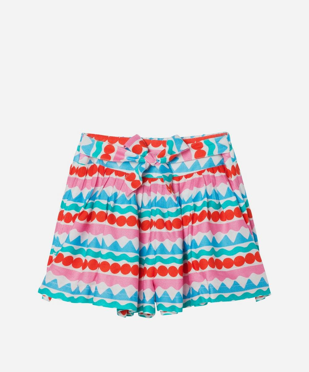 Stella McCartney Kids - Graphic Stripe Shorts 2-8 Years