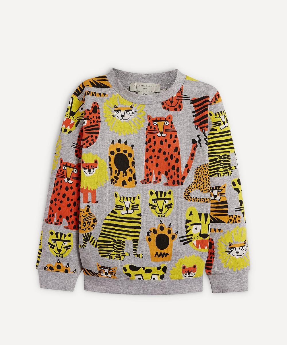 Stella McCartney Kids - Wild Cats Sweatshirt 2-8 Years