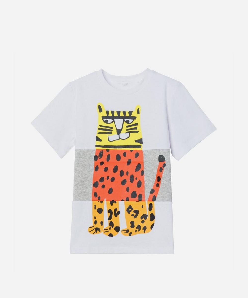 Stella McCartney Kids - Tiger Short Sleeve T-Shirt 2-8 Years