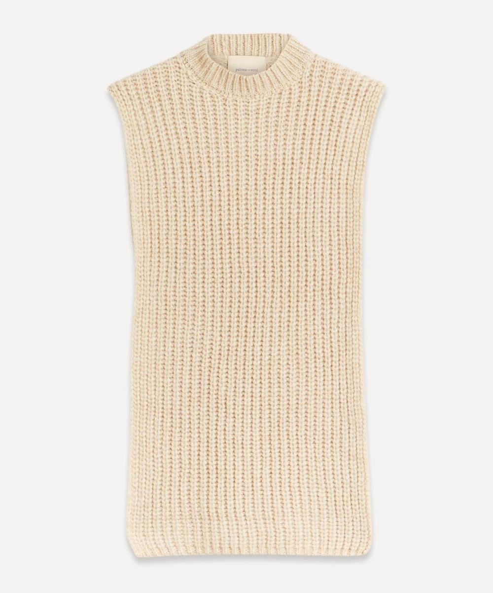 Paloma Wool - Cornetto Sleeveless Knit Poncho