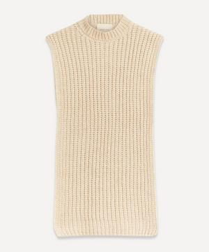 Cornetto Sleeveless Knit Poncho