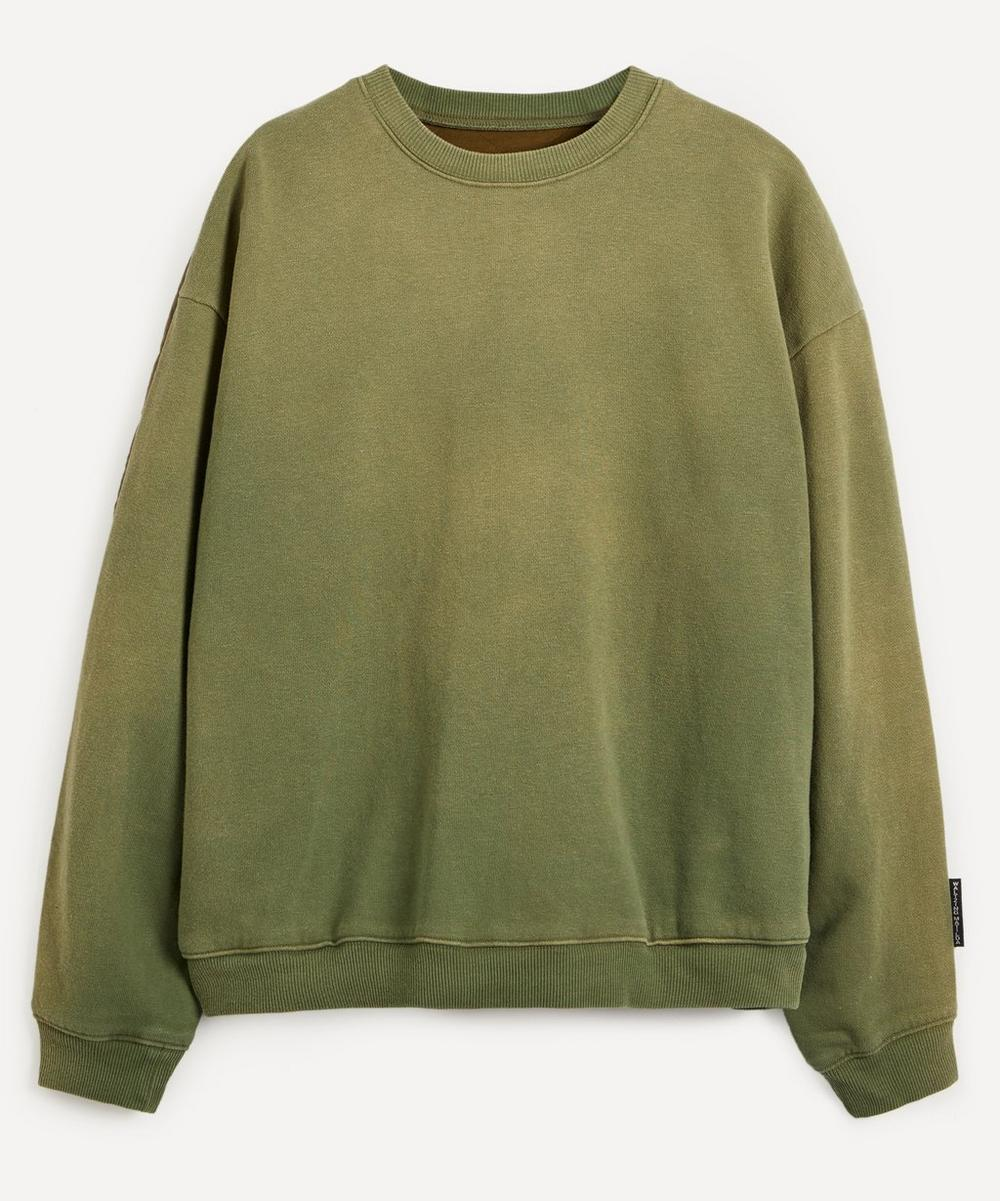 Kapital - Quilted Back Fleece Sweater