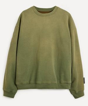 Quilted Back Fleece Sweater