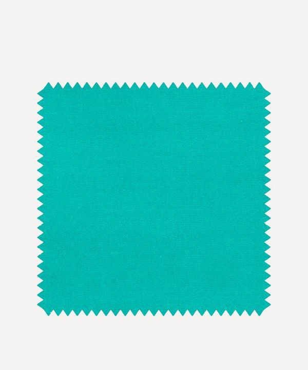 Liberty Interiors - Fabric Swatch - Jadeite Plain Cotton Velvet