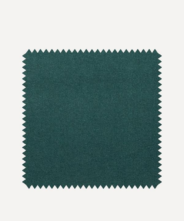 Liberty Interiors - Fabric Swatch - Salvia Plain Cotton Velvet