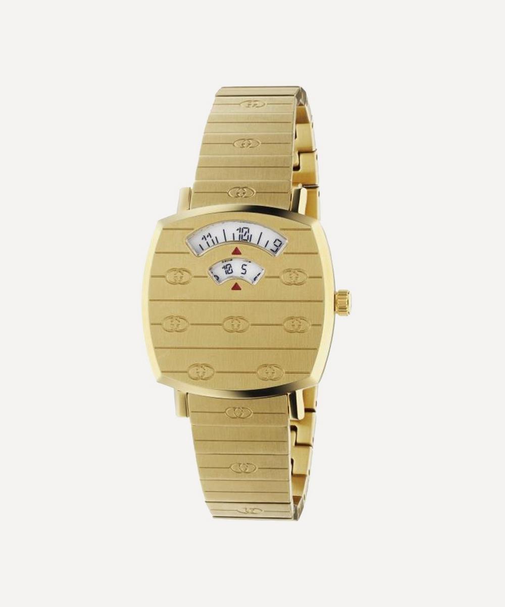 Gucci Gold Pvd Grip Watch