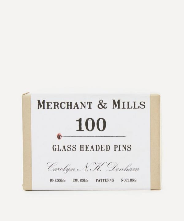 Merchant & Mills - 100 Glass Headed Pins