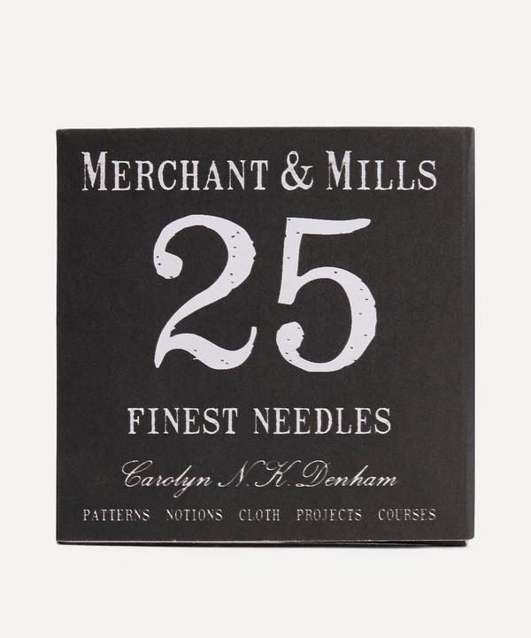 Merchant & Mills - 25 Fine Sewing Needles