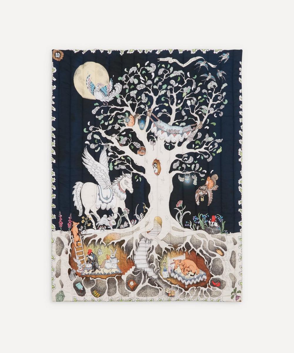 Forivor - Enchanted Forest Quilted Cot Blanket