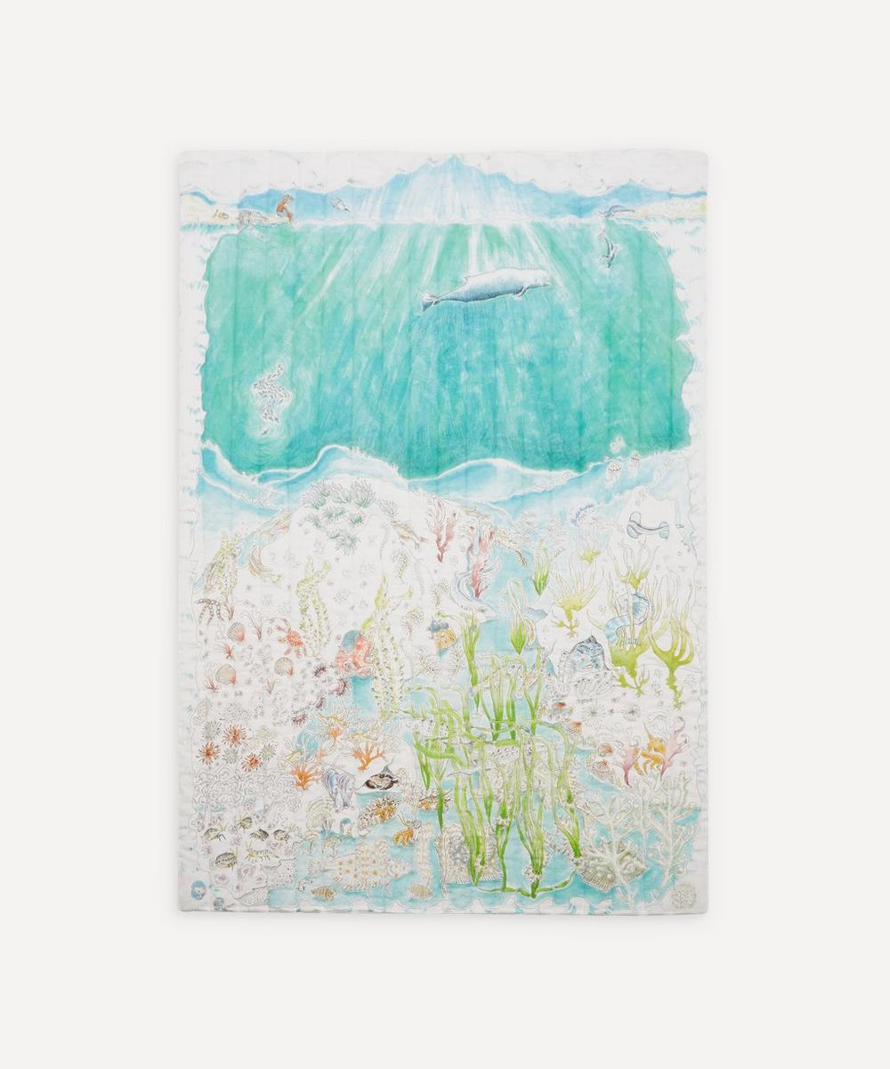 Forivor - Legends of the Sea Quilted Single Blanket