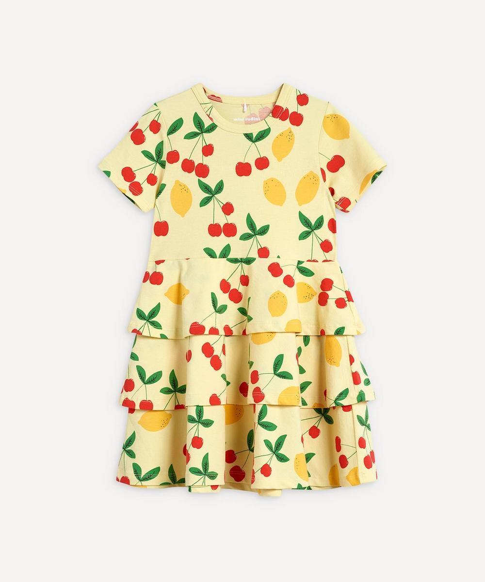 Mini Rodini - Cherry Lemonade Dress 2-8 Years