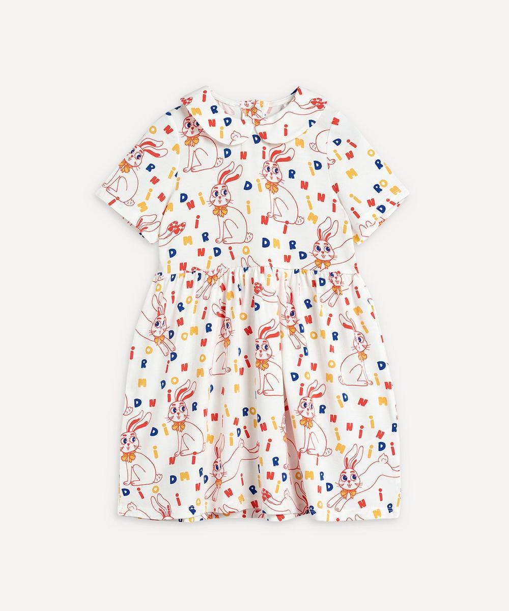 Mini Rodini - Rabbit Short-Sleeve Dress 2-8 Years