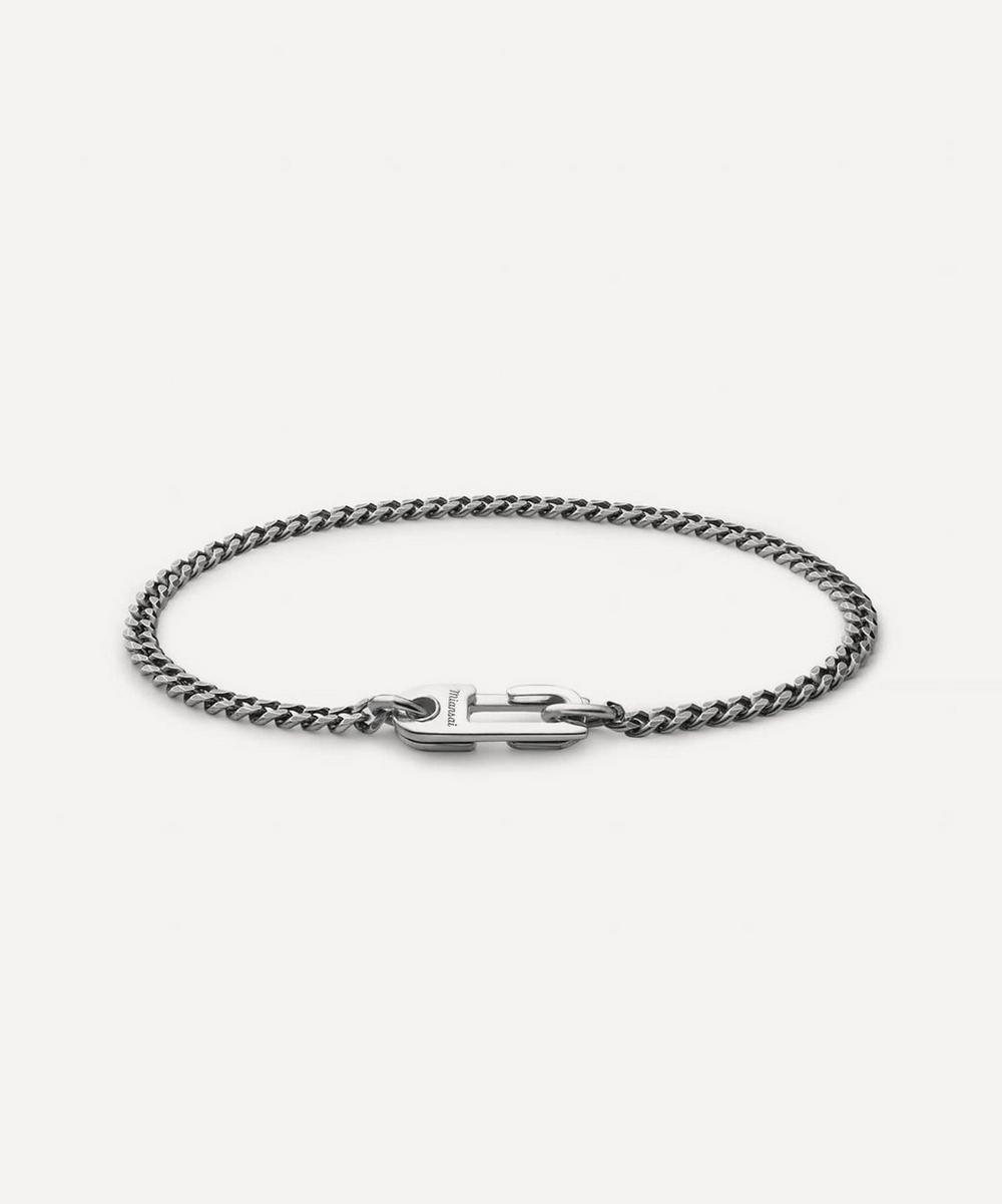 Miansai - Sterling Silver Annex Cuban Chain Bracelet